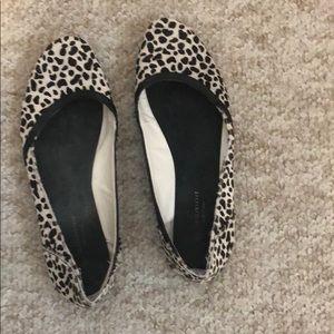 Leopard flats size 38 promod
